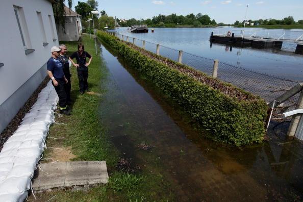 Наводнение пришло в Германию. Одер вышел из берегов. Фоторепортаж. Фото: Sean Gallup/Getty Images