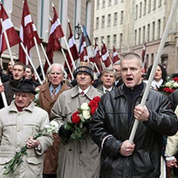 Организаторов шествия неонацистов в Латвии будут судить за  пропаганду фашизма. Фото с сайта molgvardia.ru
