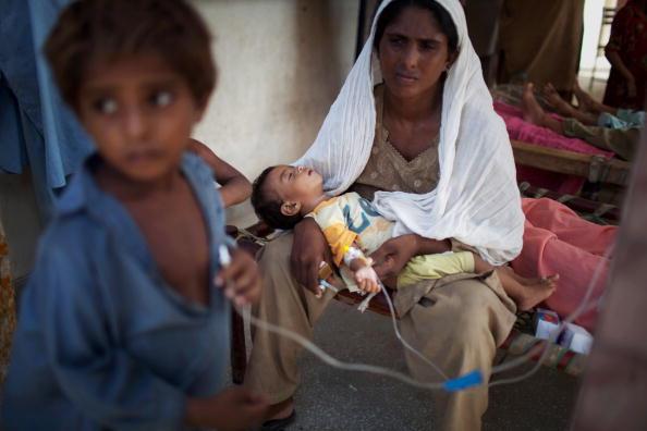 Наводнение в Пакистане: его последствия ООН назвала критическими. Фоторепортаж. Фото: Daniel Berehulak/Getty Images
