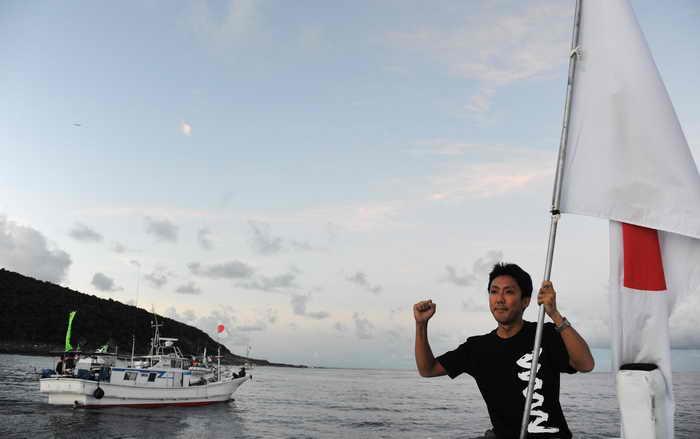 Спор между Китаем и Японией из-за островов Сенкаку продолжается. Фото: ANTOINE BOUTHIER/AFP/GettyImages