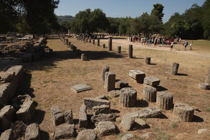 Олимпия пользуется популярностью у туристов. Фоторепортаж. Фото: Sean Gallup/Getty Images