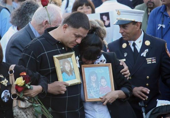 11 сентября  в США Национальный день молитвы и поминовения. Память, скорбь, боль и слезы американцев разделяет весь мир. Фото: Chang W. Lee-Pool/Getty Images