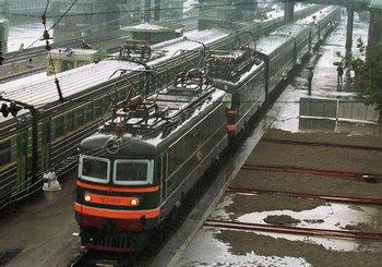 Бронированный поезд лидера КНДР Ким Чен Ира. Фото:  Igor Kolomeytsev/Getty Images
