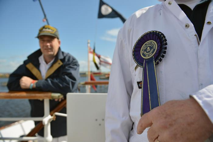 Королевская баржа готовится к юбилейному параду флотилии на реке Темзе. Фоторепортаж. Фото: Jeff J Mitchell/Getty Images