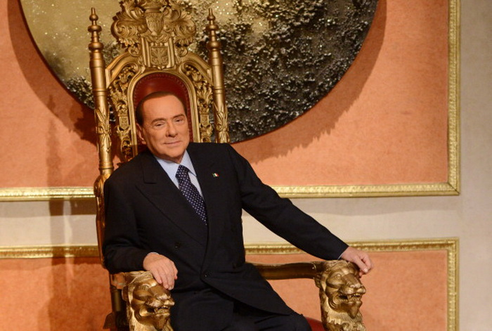 Сильвио Берлускони (Silvio Berlusconi). Фото: MARZILLA/Gamma-Rapho via Getty Images