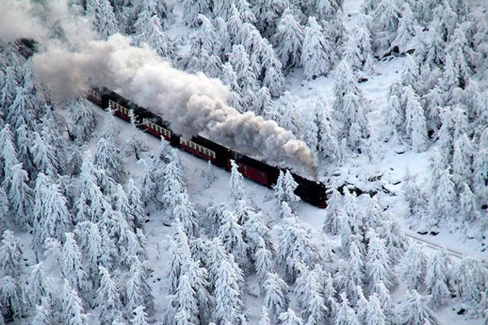 Заснеженный декабрь уходящего года в разных странах мира. Фото: Getty Images