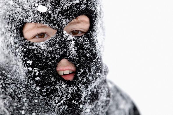 Снег засыпал Чикаго. Фоторепортаж Фото: Scott Olson/Getty Images