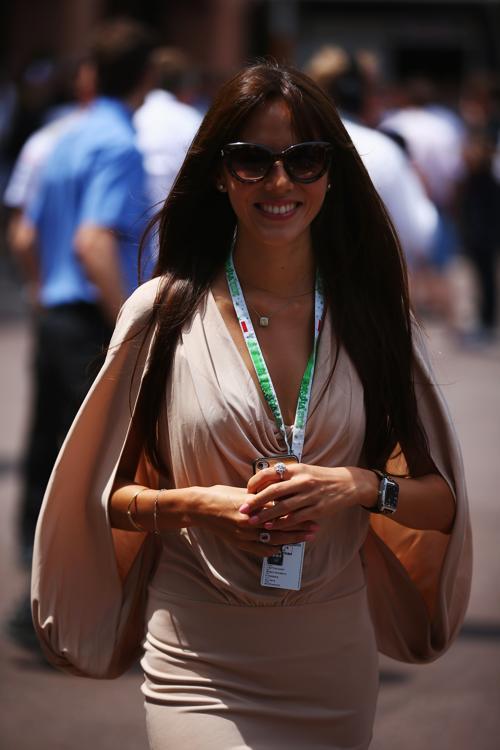 Знаменитости на Гран-при Монако. Джессика Мичибата (Jessica Michibata). Фоторепортаж. Фото: Clive Mason/Getty Images