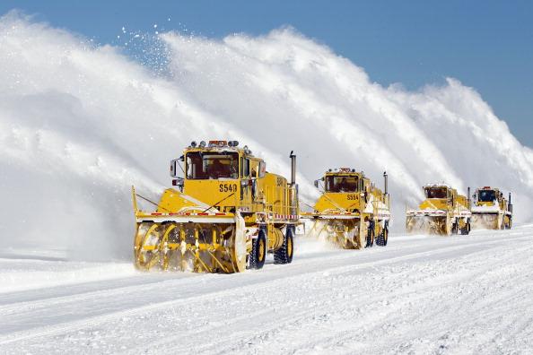 Снег в Чикаго. Последствия снежной бури. Фоторепортаж. Фото: Scott Olson/Getty Images