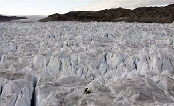 Айсберг  в Гренландии. Фото с сайта  americaru.com