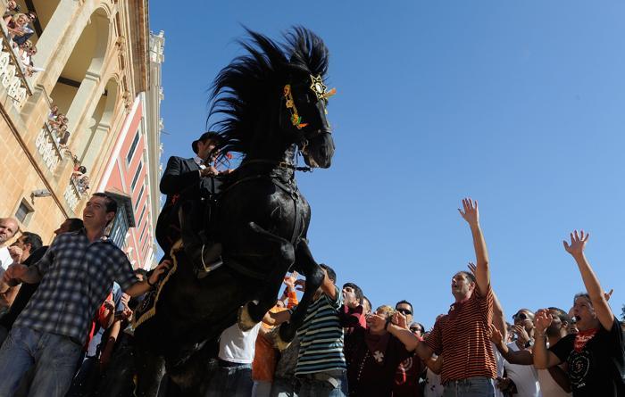 Фоторепортаж о фестивале Сан-Хуана в Цитаделе-де-Менорка.  Фото: Denis Doyle/Getty Images
