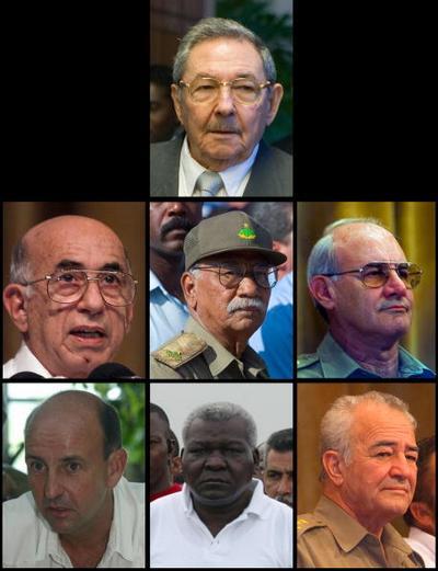 Рауль Кастро – брат Фиделя и лидер Кубы среди других, в центре. Фото: ADALBERTO ROQUE/AFP/Getty Images