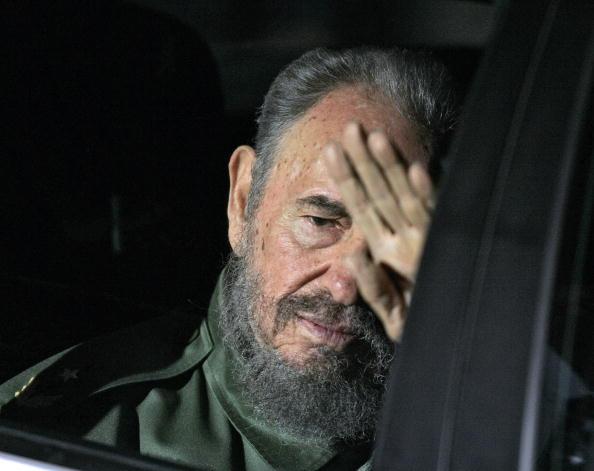 Фидель Кастро перед уходом из политики. Фото: JUAN MABROMATA/AFP/Getty Images