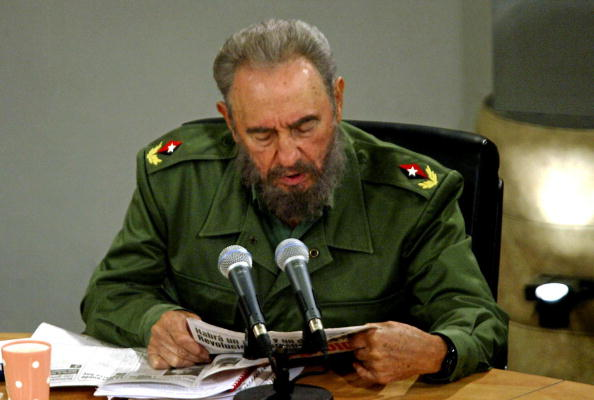 Фидель Кастро - в должности руководителя страны. Фото: ISMAEL FRANCISCO/AFP/Getty Images