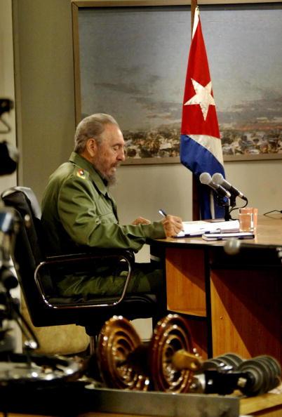 Фидель Кастро.  Фото: ISMAEL FRANCISCO/AFP/Getty Images