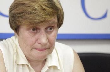 Мать Игоря - Светлана Сутягина. Фото: OXANA ONIPKO/AFP/Getty Images