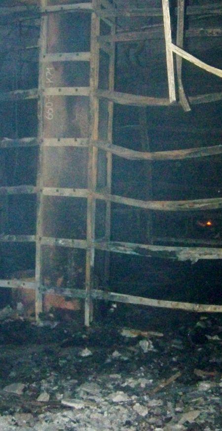 Пожар в клубе «Шоколад» в  Макеевке  Фото с сайта donbass.ua