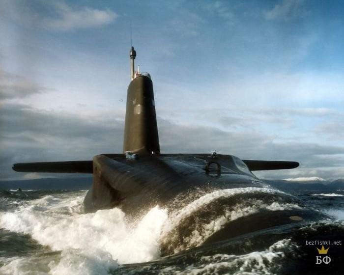 Британская подводная лодка.  Фото:  globalsecurity.org