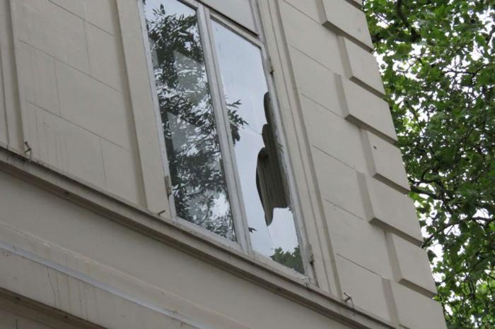 В Лондоне неизвестные напали на российское консульство . Фото:  rusemb.org.uk