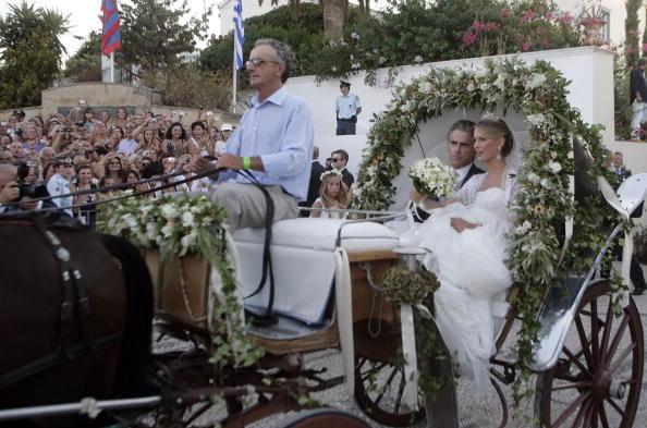 Свадьба принца Греции Николаоса и Татьяны Блатник. Фоторепортаж. Фото: Chris Jackson/Getty Images