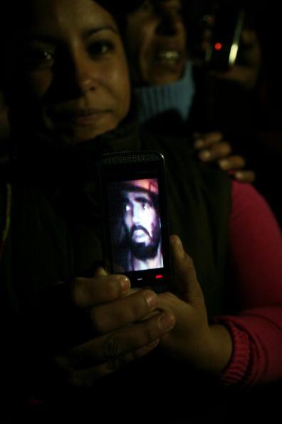 Шахтёры в Чили, замурованные на глубине 700 метров, прислали видео о себе. Фоторепортаж. Фото: HECTOR RETAMAL/AFP/Getty Images