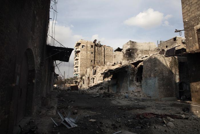 Сирия.  Фото:  FABIO BUCCIARELLI/AFP/Getty Images