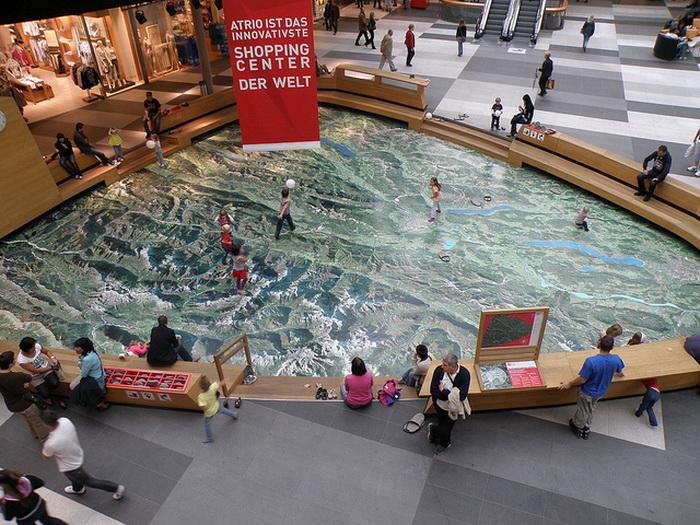 Торговый центр Atrio в австрийском городе Виллах. Фото:  flickr.com