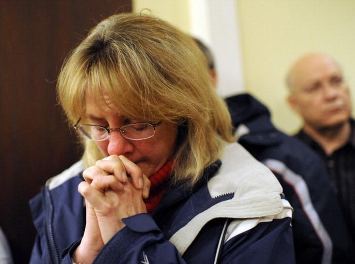 Москвичи соболезнуют американцам в связи с трагедией в штате Коннектикут.  Фото:  Andrew Gombert-Pool/Getty Images