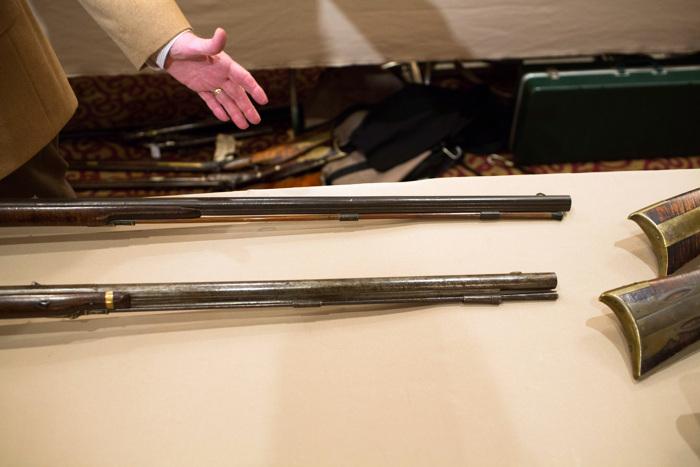 Выставка огнестрельного оружия в Стэмфорде. Фоторепортаж. Фото: Christopher Capozziello/Getty Images