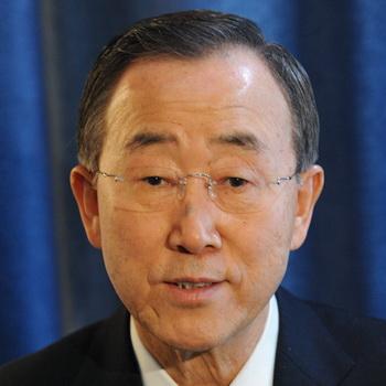 Генсек ООН Пан Ги Мун. Фото из архива РИА Новости