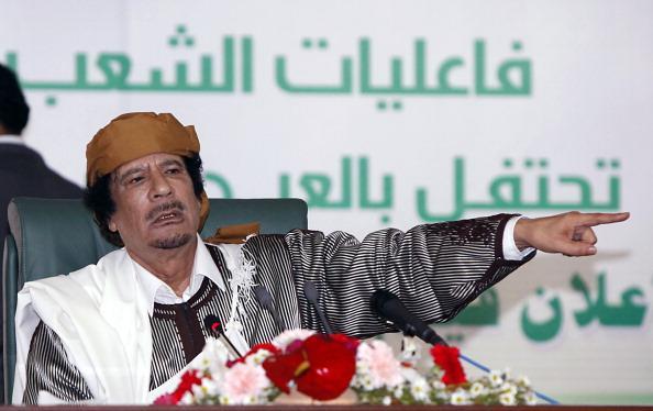 Муаммар Каддафи предупредил, что