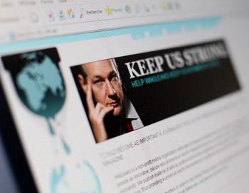 Сайт WikiLeaks «переехал» в Швейцарию. Фото: THOMAS COEX/AFP/Getty Images