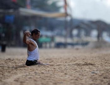 Йоги Шри-Ланки. Фото:Getty.