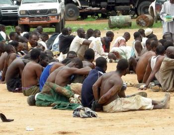 В Нигерии в столкновениях на религиозной почве погибли более ста человек. Фото: STR/AFP/Getty Images
