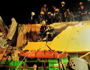 Землетрясение в Турции: погибло семь человек. Фото: Class Adrian WHITE/U.S. Navy via Getty Images