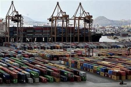 Контейнерный порт Пирей. Фото: AFP/Getty Images
