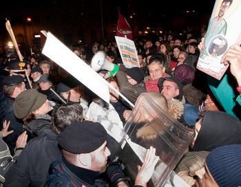 Италия: Протесты против криминала. Фото: ANDREAS SOLARO/AFP/Getty Images