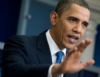 Барак Обама одобрил позицию России в отношении санкций против Ирана. Фото: SAUL LOEB/AFP/Getty Images