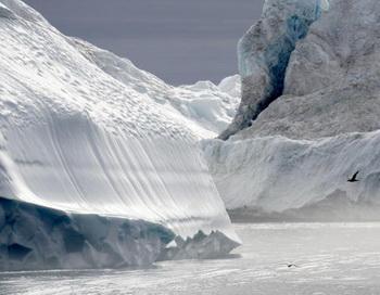 Таяние льдов в Арктике ускоряется.Фото:Getty.