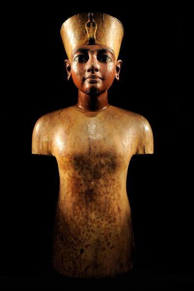 Из Каирского музея древностей украли статую Тутанхамона. Фото: STAN HONDA/AFP/Getty Images