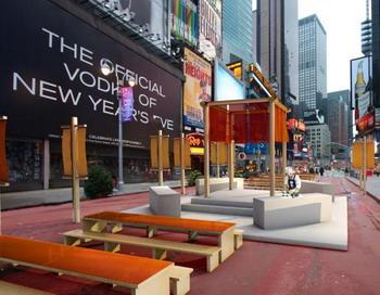 На   Таймс-сквер  в Нью-Йорке  (часть Манхэттена  на пересечении Бродвея  и Седьмой авеню в районе между 42-й и 47-й улицами, где расположены многочисленные театры и кинотеатры, рестораны, отели) будет проходить  3-й ежегодный Международный  конкурс китайского кулинарного искусства. Фото с сайта theepochtimes.com