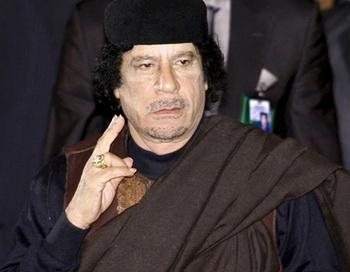 Муаммар Каддафи. Фото из архива РИА Новости