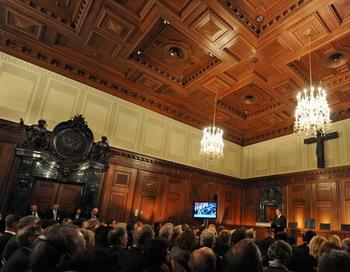 Нюрнбергский процесс не забыт. Фото: ARMIN WEIGEL/AFP/Getty Images