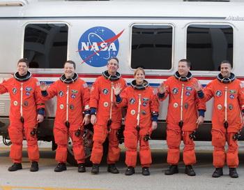 Полет на Марс начинается с виртуальной подготовки «марсонавтов». Фото: Matt STROSHANE/Getty Images