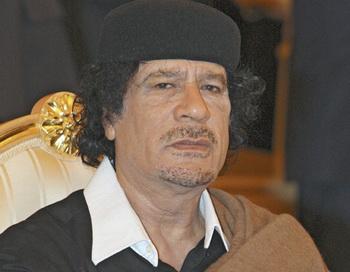 Муамар Каддафи. Фото из архива РИА Новости
