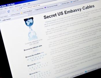 Викилеакс, официальный сайт США,  опубликовал новую серию секретных документов. Фото: NICHOLAS KAMM/AFP/Getty Images