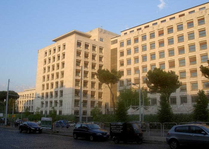 Здание FAO в Риме. Фото с сайта flickr.com