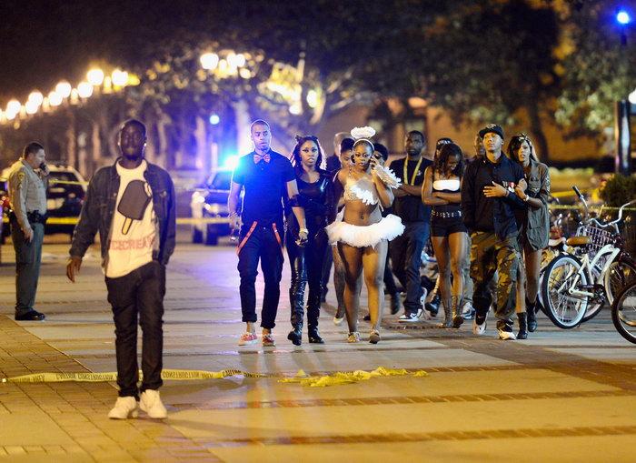Во время празднования Хеллоуина погибли три человека. Фото: Kevork Djansezian/GettyImages