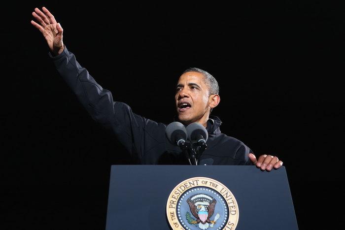Обама лидирует в досрочных выборах в большинстве штатов. Фото: Chip Somodevilla/GettyImages