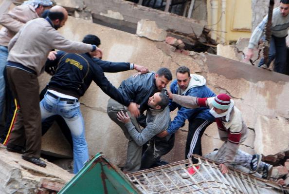Песчаные бури в Египте: погибли не менее 18 человек, более 40 ранены . Фото: KHALED DESOUKI/AFP/Getty Images